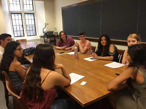 fsy 2018 classroom