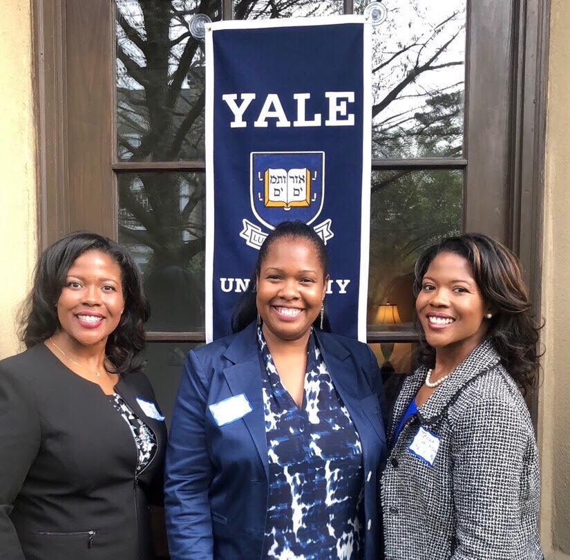 Three alumnae in Atlanta
