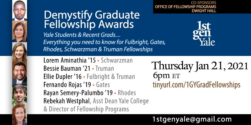 demystify graduate fellowships