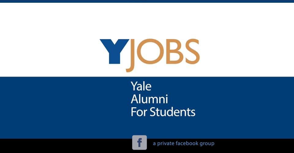 jobs yale alumni for students
