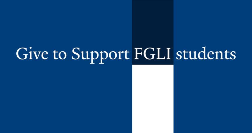 give to FGLI Yale